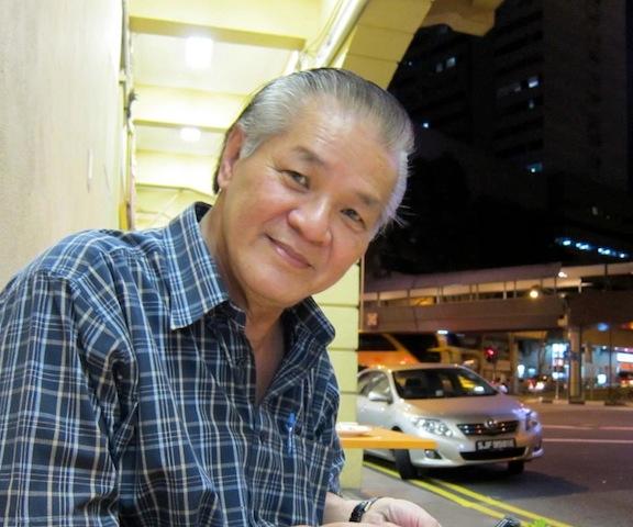 The taxi blogger