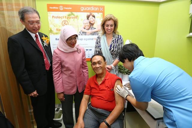 Flu & shingles jabs at Guardian