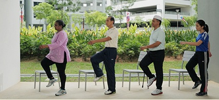 Exercise video for seniors launched