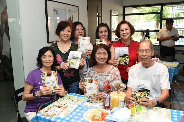 HPB dishes out 'Recipe for Healthy Ageing'