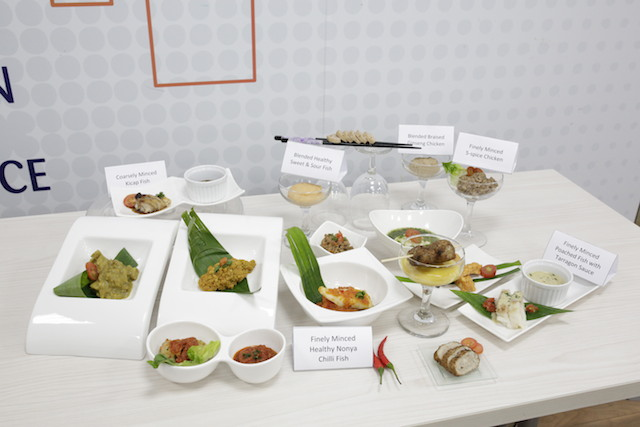 Asian meals for those with dysphagia