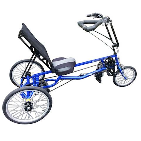 Get your exercise with a trike