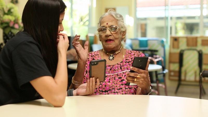 Forgotten seniors pick up technology