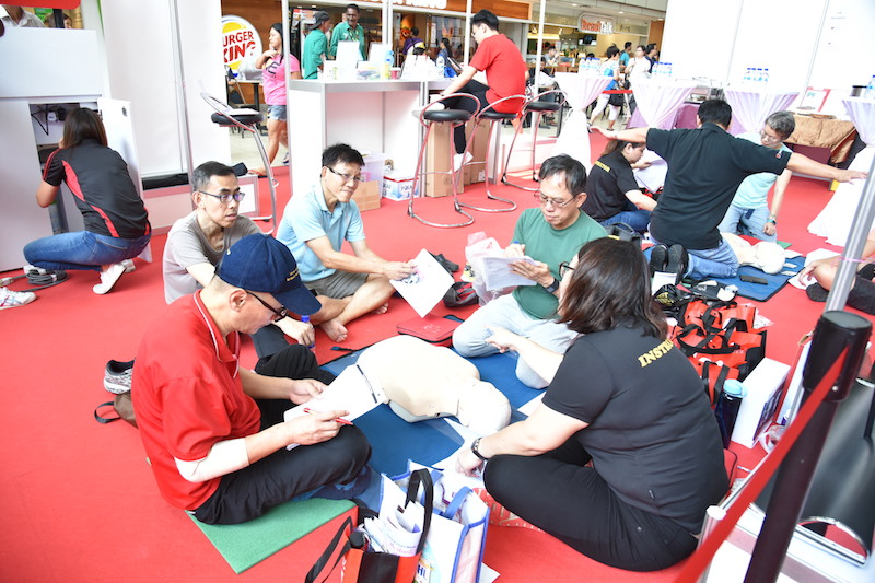 CPR self-learning kiosks islandwide