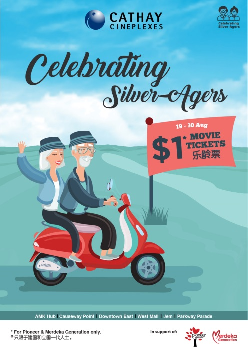 Celebrating silver-agers!