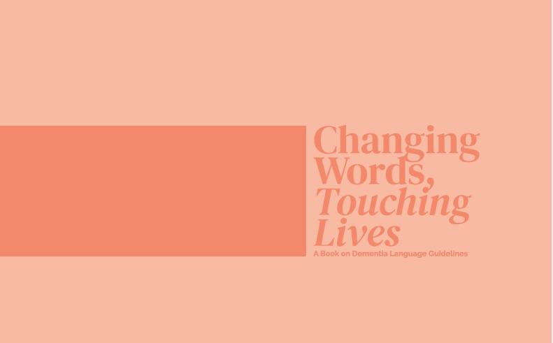 Dementia Language Guidelines booklet