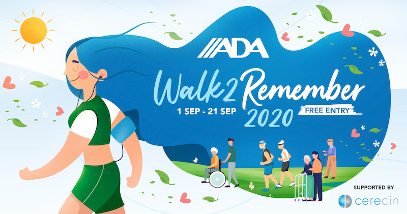 Walk in support of the dementia community