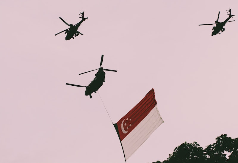 Commemorating Singapore's 55th birthday