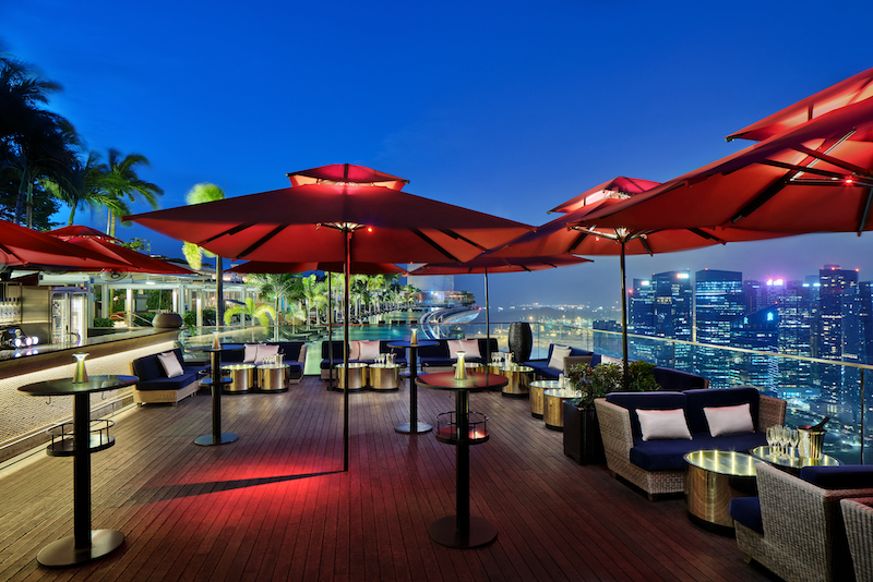 A rooftop destination opens this month