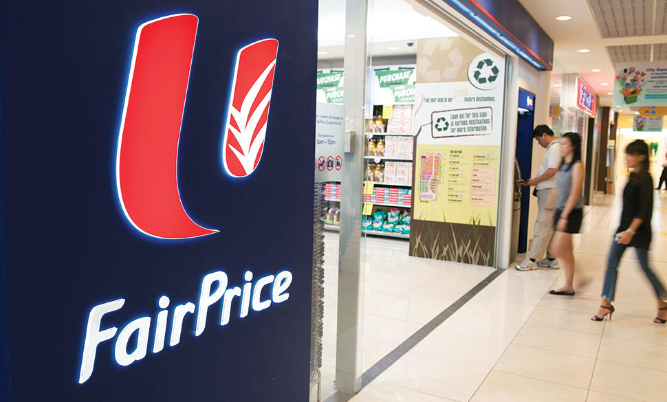 Discounts at FairPrice for low-income families